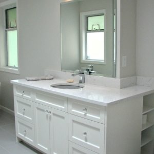 Bathroom Renovation storage