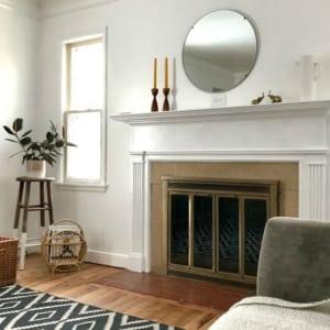 Wood Fireplace Addition