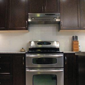 Dark Kitchen Cabinet in Victoria, BC