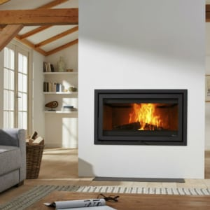 electric fireplace addition