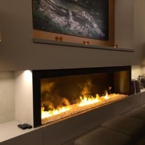 Gas Fireplace Addition