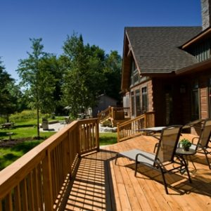 fall projects - reseal your deck