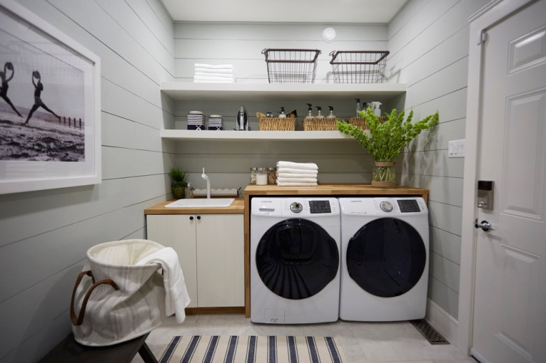 laundry room upgrade