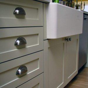 Light Kitchen Cabinet