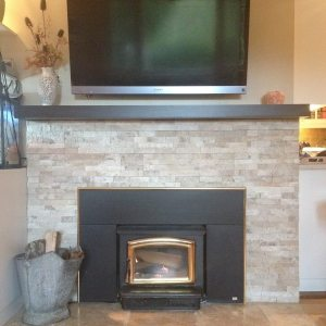 Fireplace and Mantle Renovation
